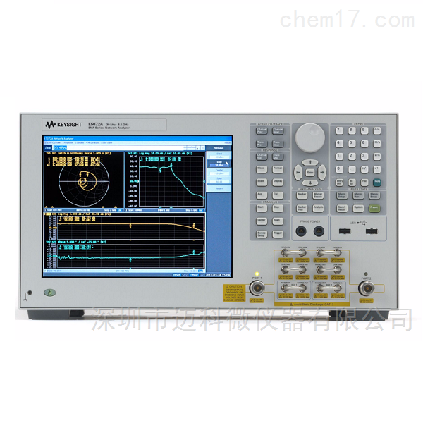 Keysight是德科技ENA网络分析仪E5072A维修