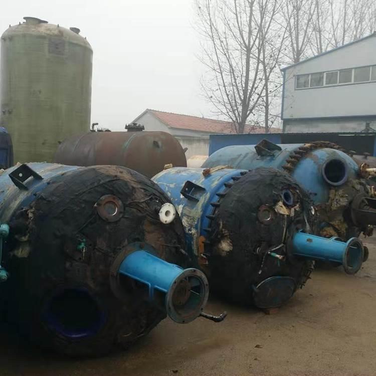 长期供应二手5000升开式搪瓷反应釜