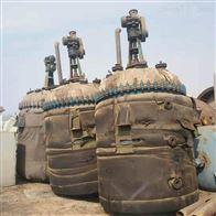 出售二手5立方蒸汽电加热盘管反应釜