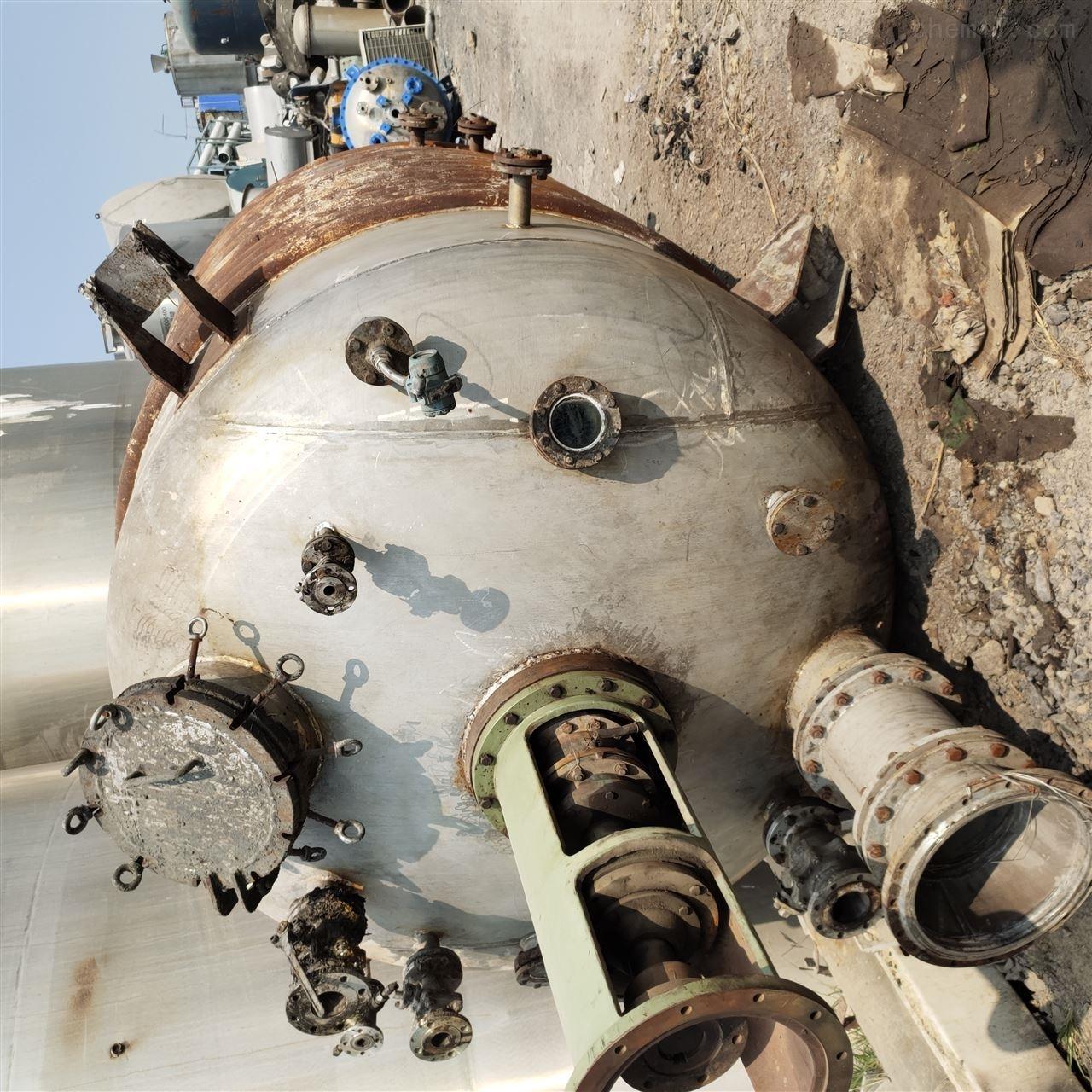 长期供应二手10吨不锈钢反应釜