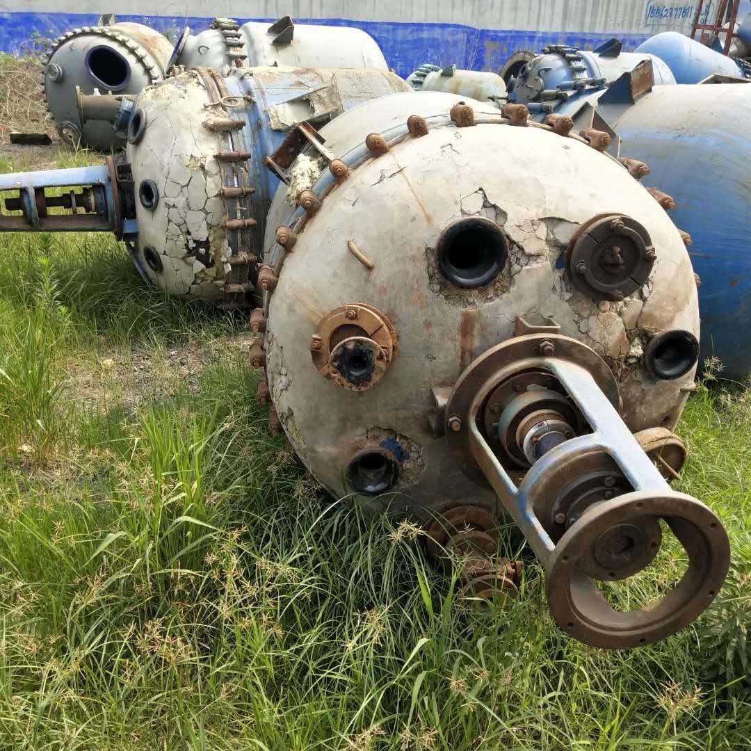 出售不锈钢二手真空高速乳化反应釜