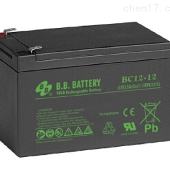 台湾BB蓄电池BC12-12代理商