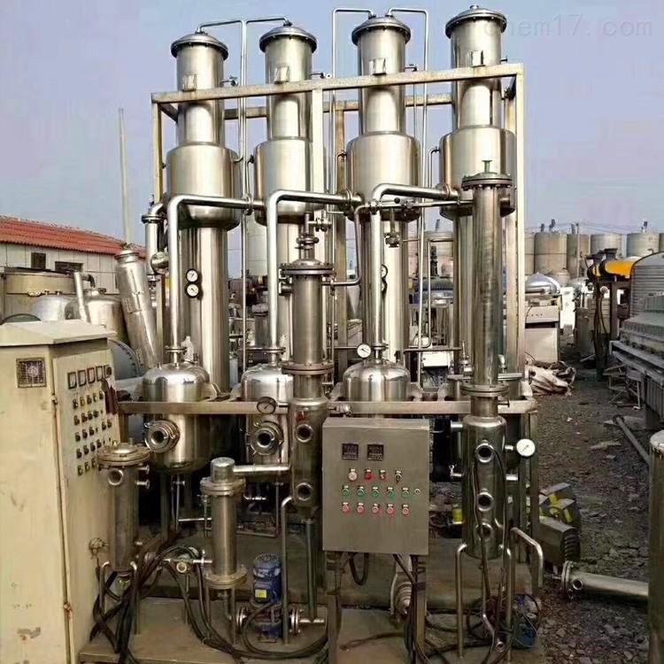 九成新二手25吨四效降膜蒸发器价格