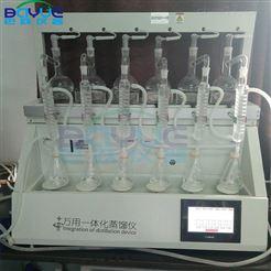 BA-ZL6B实验室搭建蒸馏装置