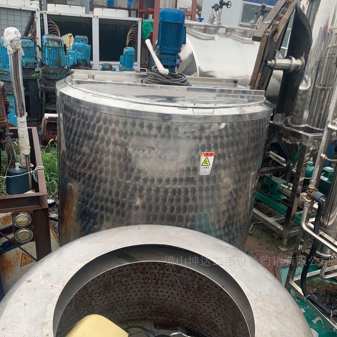 二手1吨 冷热缸 不锈钢储罐