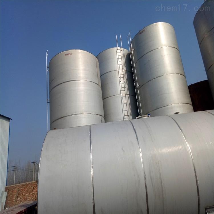 供应二手5吨立式不锈钢白酒储存罐