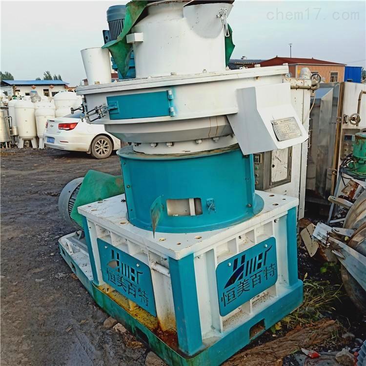 出售二手秸秆稻草压块机 生产线设备