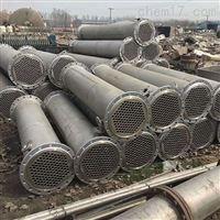 九成新二手380平方钛合金列管冷凝器