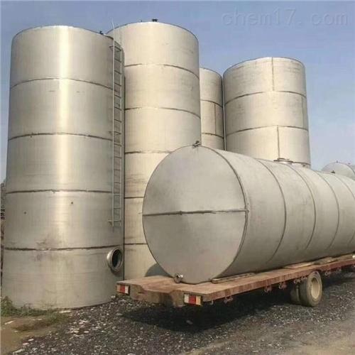 二手卧式不锈钢储罐全国回收