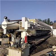 二手隔膜板框压滤机污水处理设备