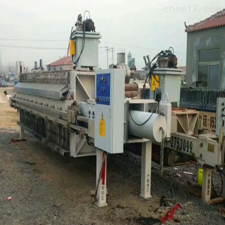 二手污水处理板框压滤机
