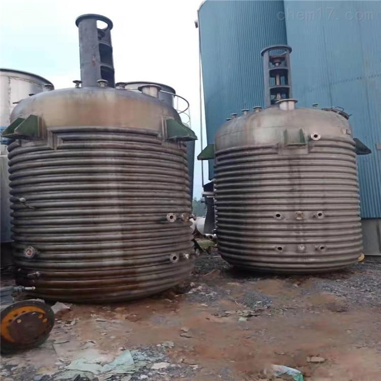 二手电加热5000L搪瓷反应釜价格