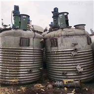 厂家定做10吨外盘管全不锈钢反应釜