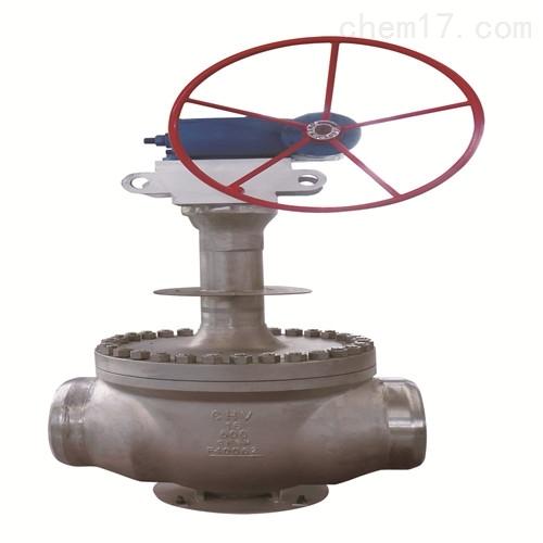 上装式超低温球阀