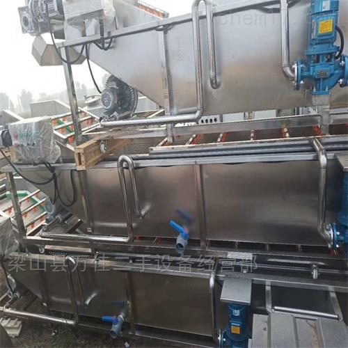 全新食品设备蔬果清洗机风干机出售