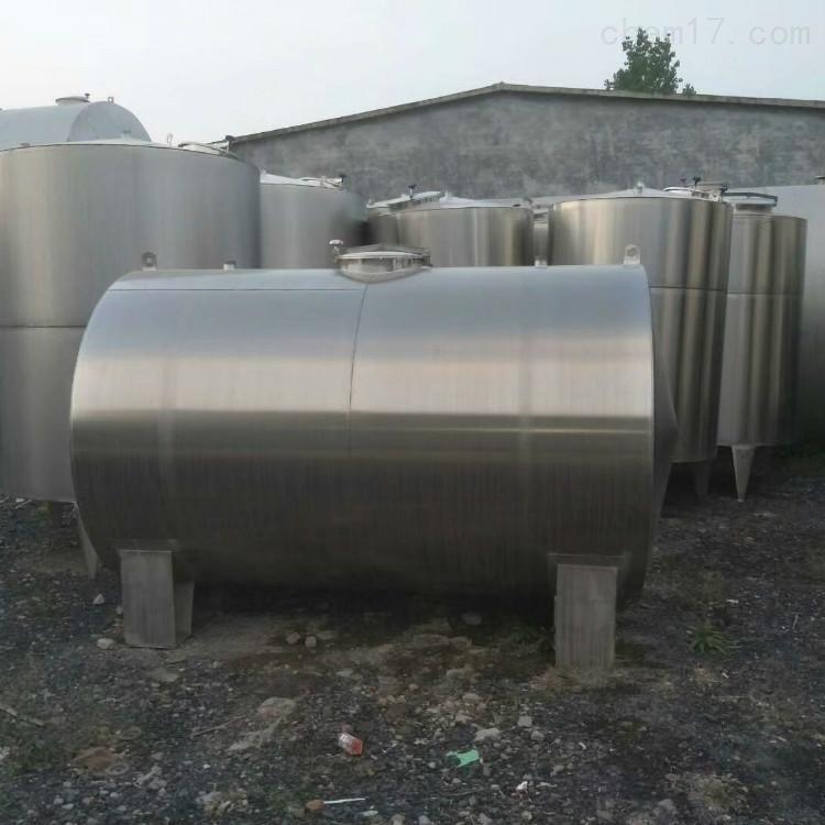 二手鲜奶发酵罐 不锈钢储罐安装指导