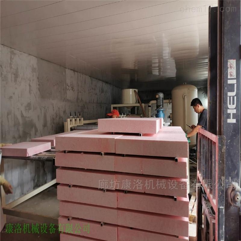 硅质板设备渗透硅质聚苯板厂家设备生产方式