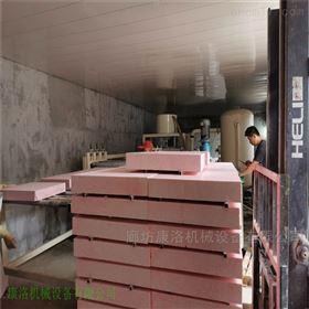 KL-58硅质建筑保温板A级防火设备具体操作