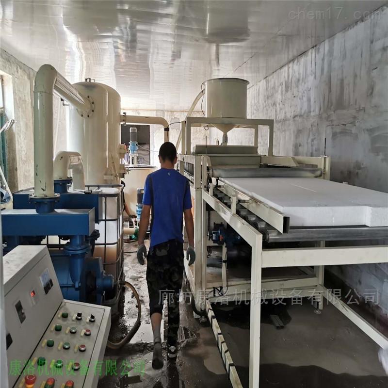 聚合聚苯硅质水泥板设备生产过程