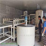 齐全改性硅岩板设备与热固渗透板生产线