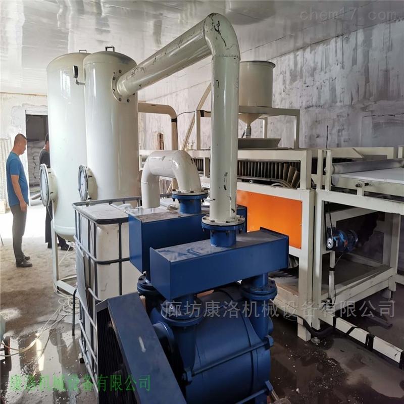 硅质板生产线硅岩保温建筑板设备开发