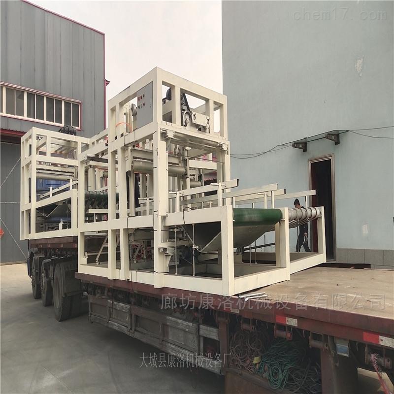 模箱式匀质保温板设备外墙板生产线