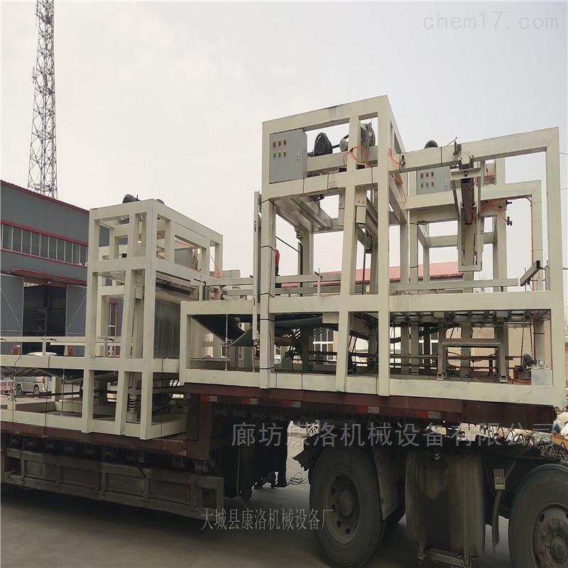 渗透匀质板设备颗粒聚苯板生产设备