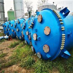 50升 100L电加热2吨反应釜,二手5立方搪瓷釜,100L釜