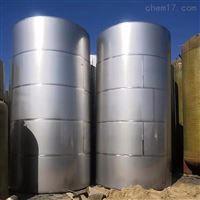 大量转让二手10吨不锈钢储罐