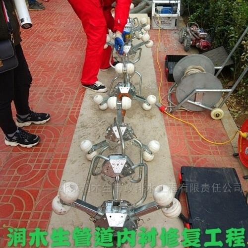 UV-CIPP紫外光固化修复 市政管道清淤检测