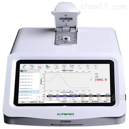 自动检测超微量分光光度计