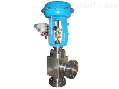 气动薄膜高压角型调节阀