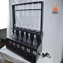 QYZL-6C四川绵阳黑色万用体化蒸馏装置