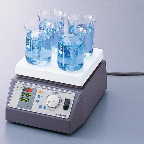 日本ASONE亚速旺数字加热磁力搅拌器DP-1L