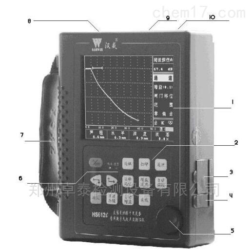 HS612e洛阳支柱瓷绝缘子及瓷套超声波检测仪