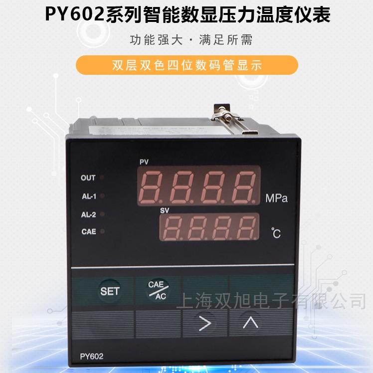 智能数字压力温度表PY602