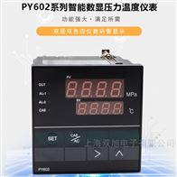 PY602H智能数字压力温度表PY602