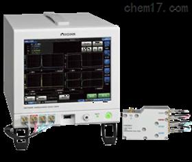 日本日置HIOKI电阻计分析仪IM7585测试夹具台IM9200