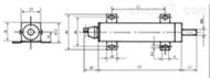 BXS16-WDL300精密导电塑料电位器 直线位移传感仪器 导电塑料电位器 线绕电位器