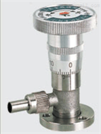 HG08-GW-J200-T高真空微调阀 气体流量控制器 系统真空度调节仪