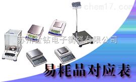 EP-80岛津天平耗材,进口天平耗材厂家,岛津天平打印机