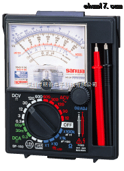 sanwa日本三和SP-18D指针式万用表