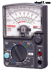 sanwa日本三和TA55指针式万用表