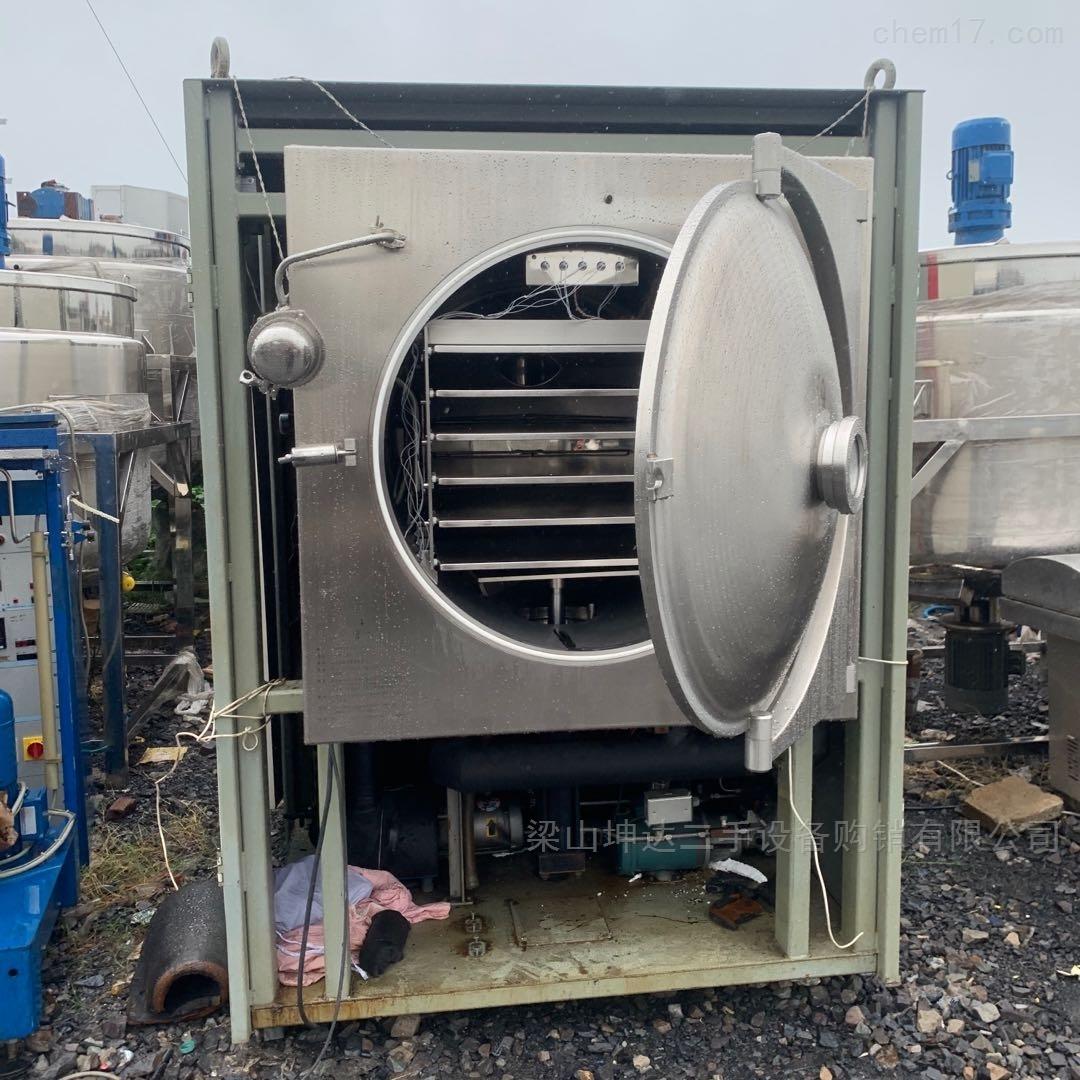 二手2平方爱德华真空冷冻干燥机冻干机