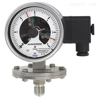 PGS43.100, PGS43.160WIKA带开关电接点的膜片式压力表