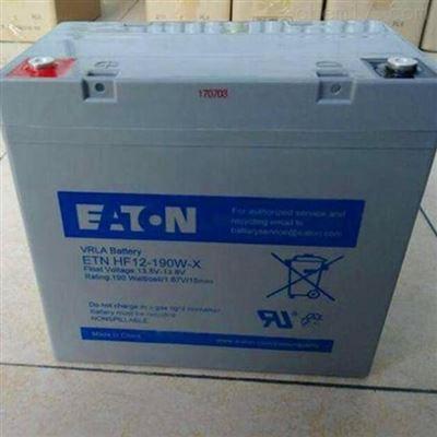 E2AL12-160伊顿蓄电池E2AL12-160 12V160AH 免维护