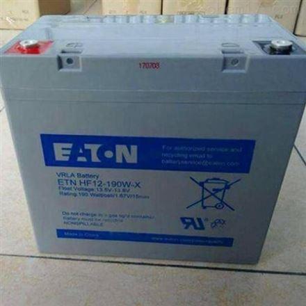 伊顿蓄电池E2AL12-160 12V160AH 免维护