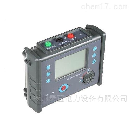 2500V智能化绝缘电阻测试仪