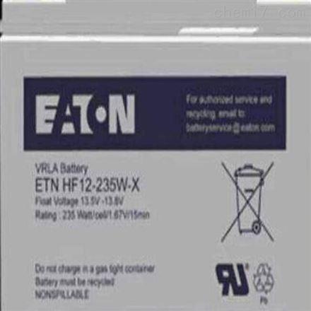 伊顿蓄电池E2AL12-100 12V100AH免维护