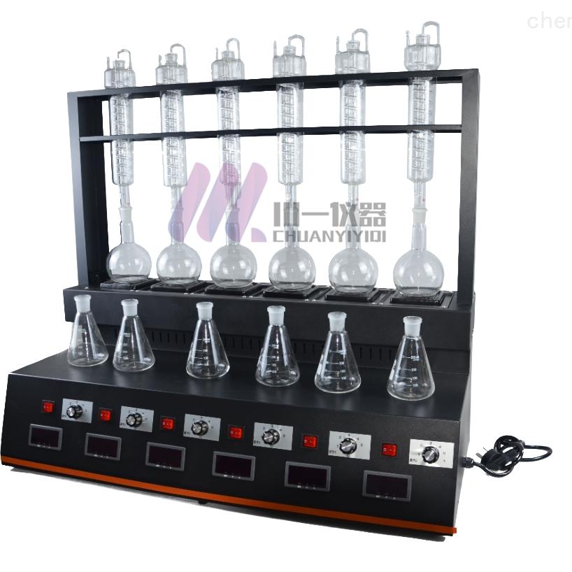 深圳氨氮蒸馏仪CYZL-6C多功能蒸馏装置